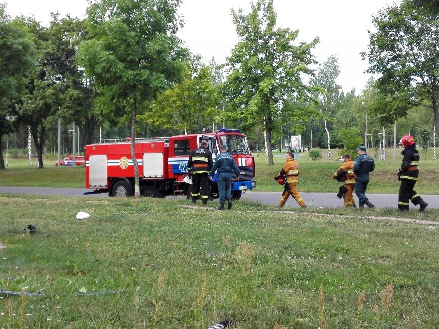 ДТП в Новополоцке: 1 пострадавший, водитель скрылся с места происшествия (Фото), фото-2