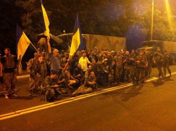 Широкино покинули и добровольцы «Донбасса» (ФОТО) (фото) - фото 1