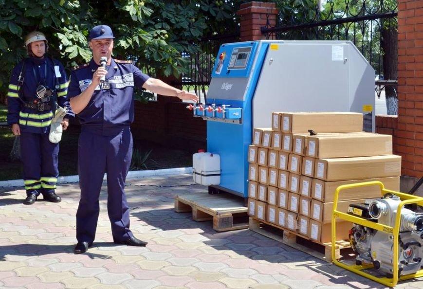 Мариупольским спасателям подарили немецкое оборудование (ФОТО), фото-4