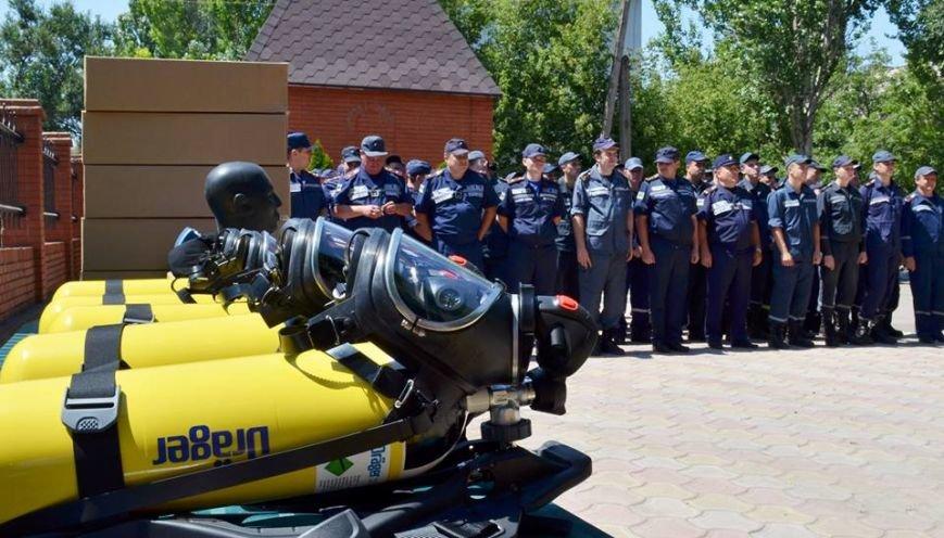 Мариупольским спасателям подарили немецкое оборудование (ФОТО), фото-1