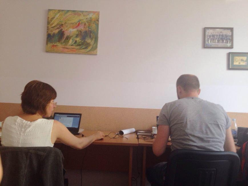 Журналісти редакції Курс (фото-Наталя Гостило)