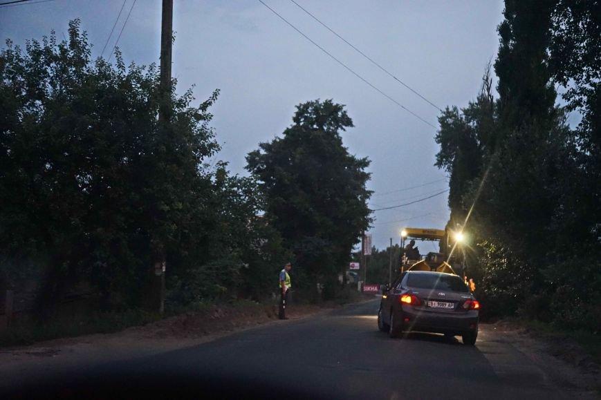 Сотрудники ГАИ в Полтаве стали более усердно патрулировать участки дороги, где идет ремонт. Фото (фото) - фото 1
