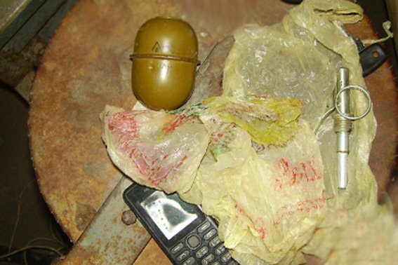 У жителя Кіровоградщини вилучено гранату. ФОТО (фото) - фото 1