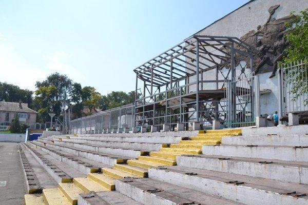 В Днепродзержинске реконструируют стадион «Металлург» (фото) - фото 1