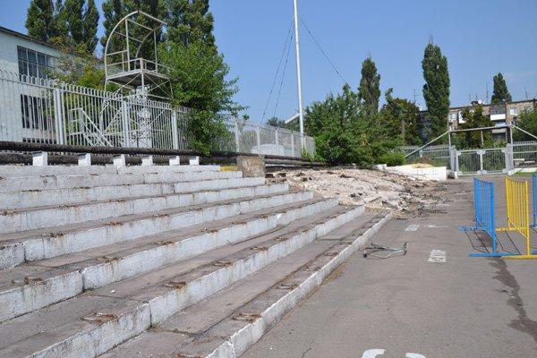 В Днепродзержинске реконструируют стадион «Металлург», фото-3