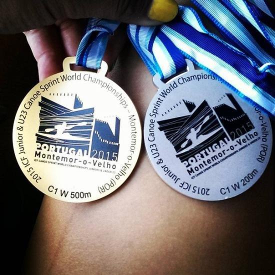 Франківська спортсменка здобула «золото» та «срібло» на чемпіонаті світу (фото) - фото 1