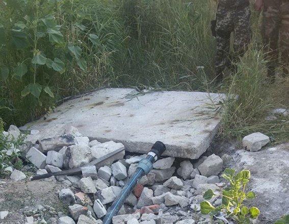 Буковинські міліціонери в зоні АТО ліквідували нелегальний канал постачання палива з Росії, фото-1