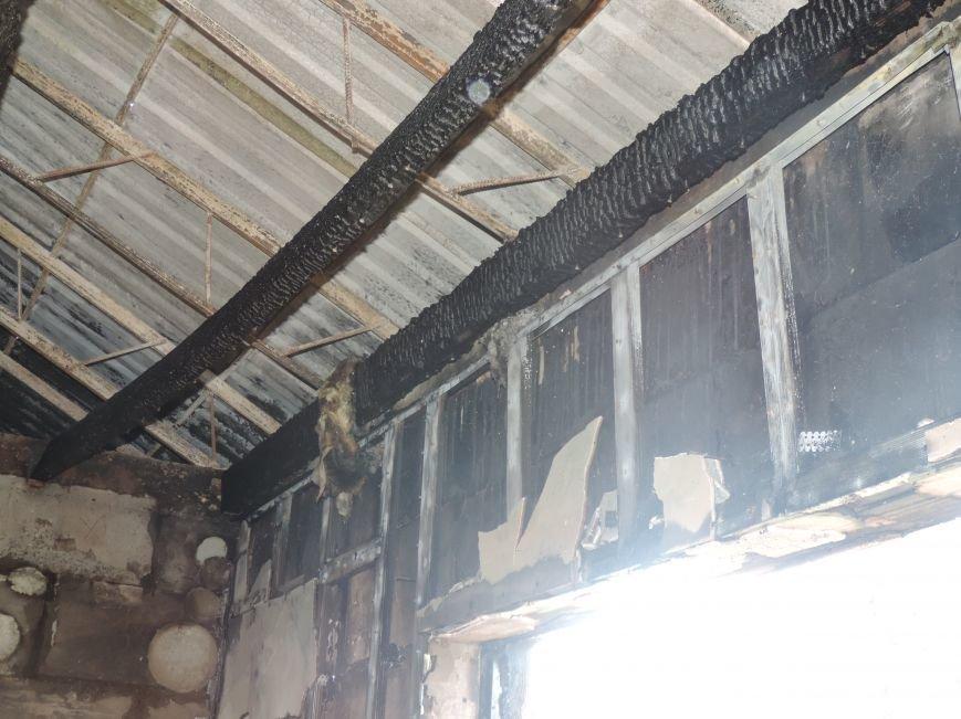 Пожар в Южном (фото) - фото 1