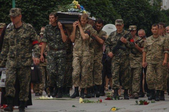 Сумы простились с погибшим в АТО Героем (ФОТО+ВИДЕО), фото-2