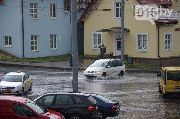 Сильные дожди глазами гродненцев - грозы, град и потопы местного уровня (фото) - фото 7