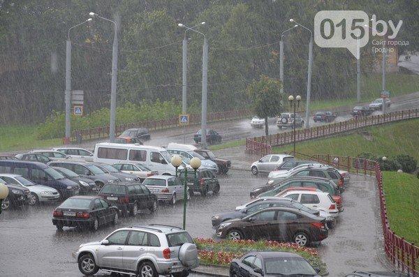 Сильные дожди глазами гродненцев - грозы, град и потопы местного уровня (фото) - фото 6