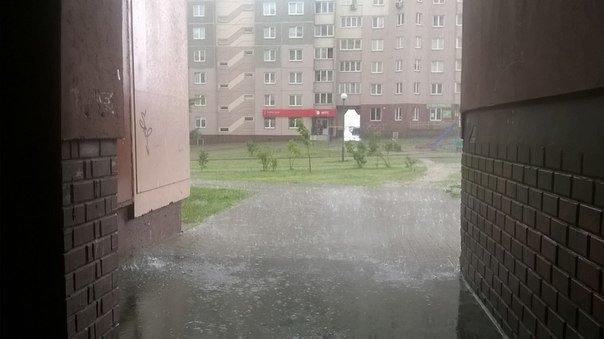 Сильные дожди глазами гродненцев - грозы, град и потопы местного уровня (фото) - фото 9