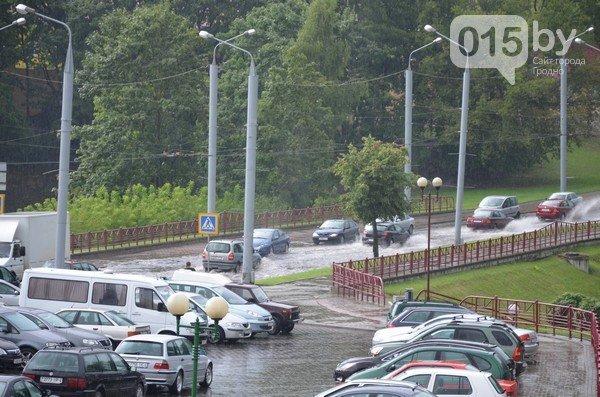 Сильные дожди глазами гродненцев - грозы, град и потопы местного уровня (фото) - фото 8