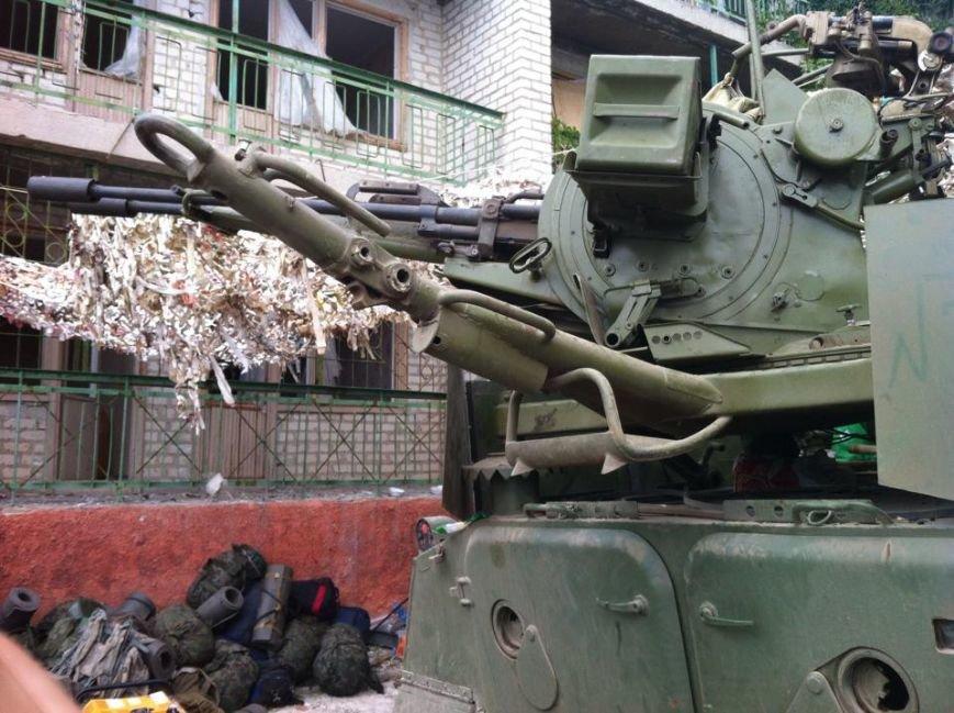 Морские пехотинцы заняли позиции под Мариуполем (ВИДЕО+ФОТО) (фото) - фото 1