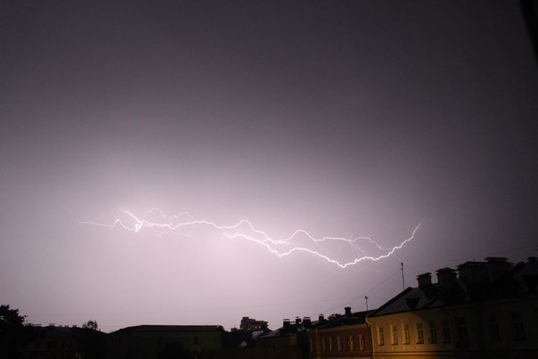Сильные дожди глазами гродненцев - грозы, град и потопы местного уровня (фото) - фото 14
