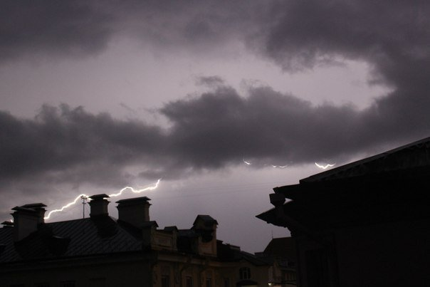 Сильные дожди глазами гродненцев - грозы, град и потопы местного уровня (фото) - фото 12