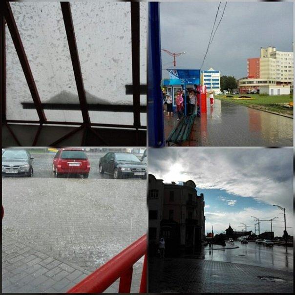 Сильные дожди глазами гродненцев - грозы, град и потопы местного уровня (фото) - фото 4