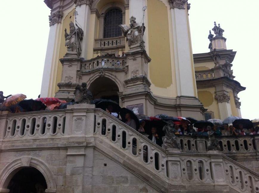 Що зараз відбувається на площі Святого Юра у Львові (ФОТО), фото-1