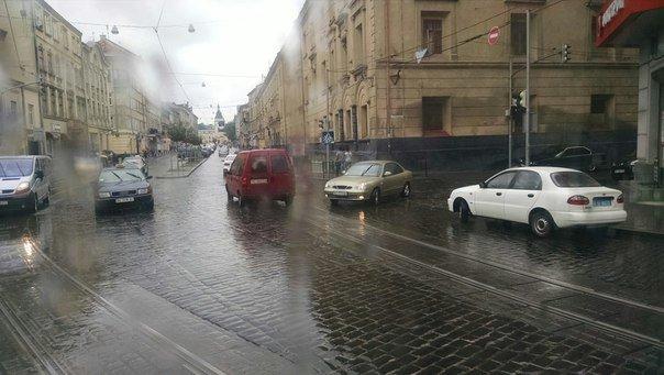 У Залізничному районі Львова не працюють світлофори (фото) - фото 1