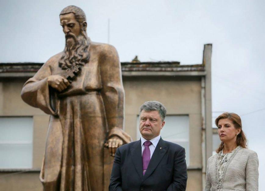 Петро Порошенко відкрив пам'ятник Митрополиту Андрею Шептицькому (фото) - фото 2