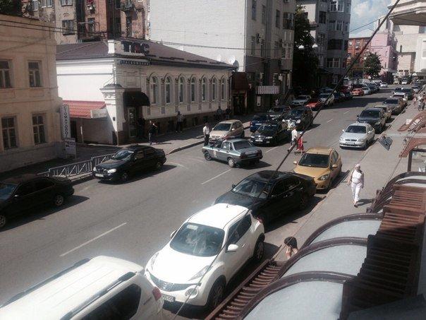 Улица Рымарская перекрыта из-за информации о заминировании (ФОТО) (фото) - фото 1