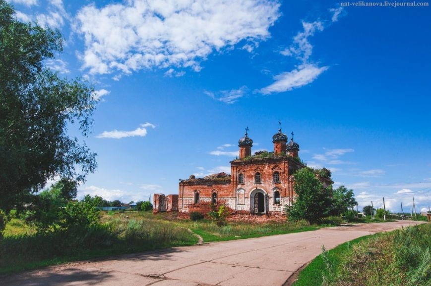 село Русский Юрткуль Старомайнского района
