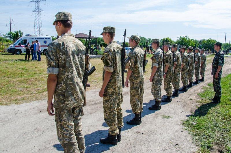 Днепропетровщина попрощалась с 16 неизвестными бойцами АТО (фото) - фото 4