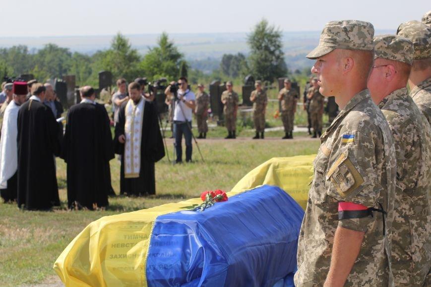 Днепропетровщина попрощалась с 16 неизвестными бойцами АТО (ФОТО), фото-3