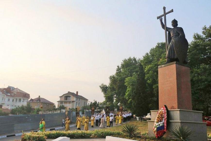 Севастополь с размахом отпраздновал 1000-летие памяти крестителя Руси (ФОТО, ВИДЕО), фото-4