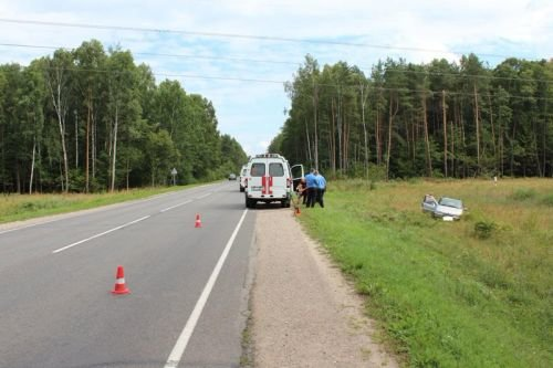 Под Гродно перевернулась машина с четырьмя малолетними детьми (фото) - фото 4