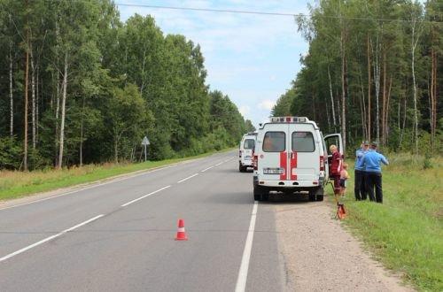 Под Гродно перевернулась машина с четырьмя малолетними детьми (фото) - фото 1