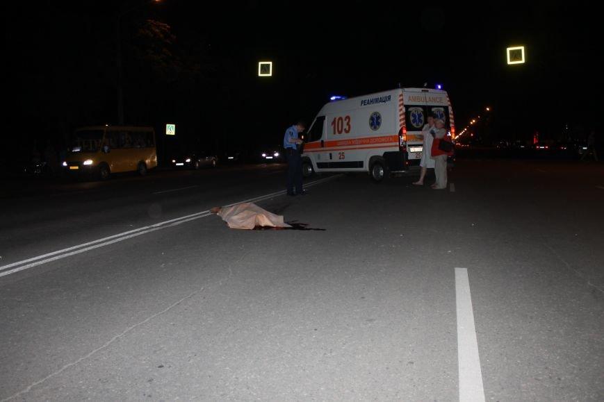 Смертельное ДТП в Кривом Роге: «Hyundai Getz»  на пешеходном переходе насмерть сбил мужчину (ФОТО 18+), фото-5