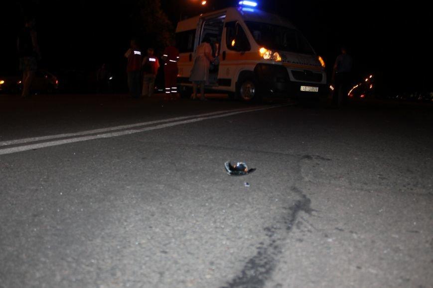 Смертельное ДТП в Кривом Роге: «Hyundai Getz»  на пешеходном переходе насмерть сбил мужчину (ФОТО 18+), фото-3