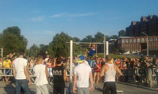 В Днепропетровске прошел чемпионат по Street Workout: как это было (ФОТО) (фото) - фото 1