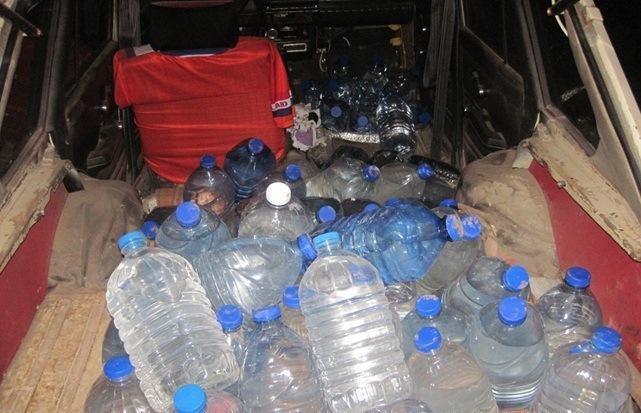 На кордоні Сумщини затримали контрабандне м'ясо та спирт, фото-1