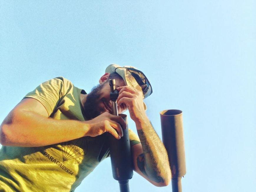 Морпехам в Широкино подарили планшет с картами, оптику и аптечку, фото-4