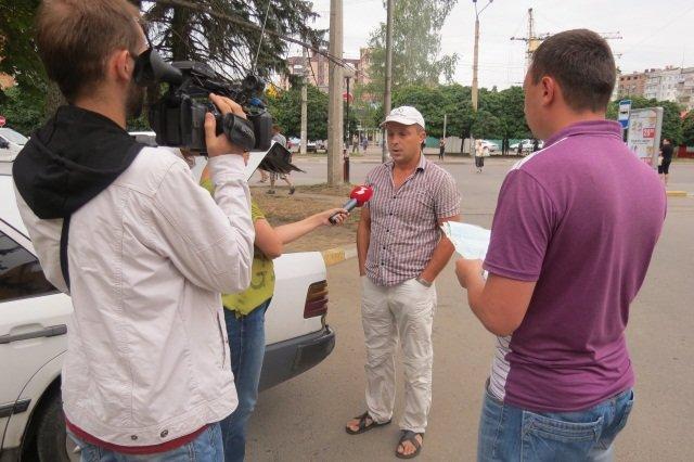 Франківських таксистів перевіряла ДАІ та податкова (фото) - фото 2