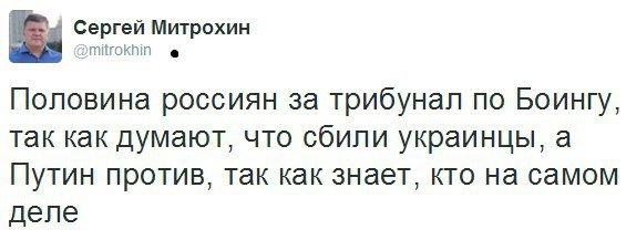 Явка с повинной. Россия открыто показала свою боязнь трибунала по крушению Boeing 777 (фото) - фото 1
