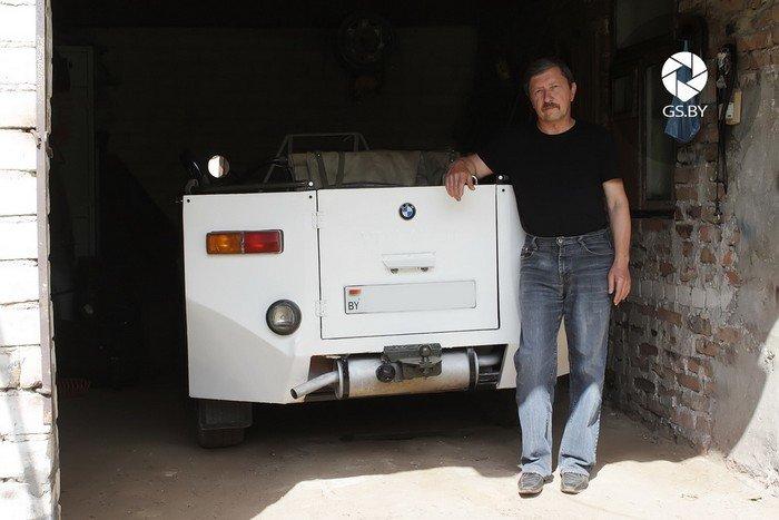 Житель Слонима за 6 лет создал собственный трицикл (фото) - фото 3