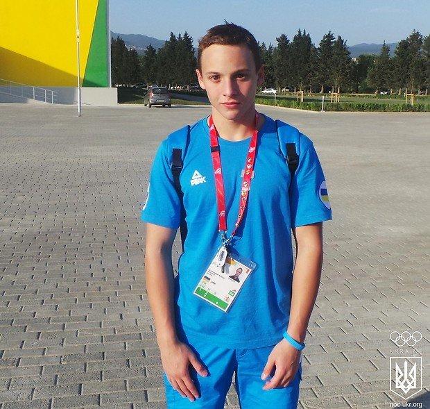 Днепродзержинский пловец Александр Мороз завоевал серебро на Олимпийском фестивале, фото-1