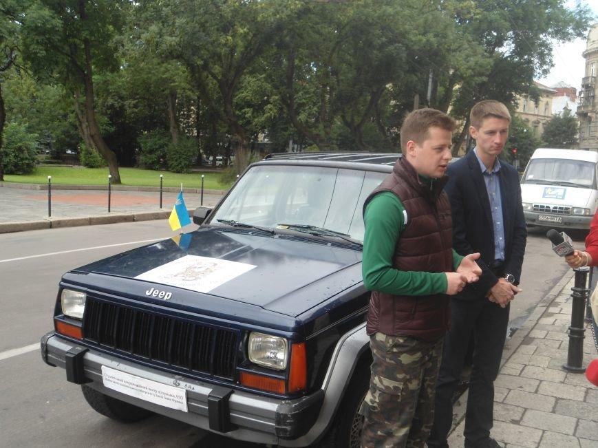 Львівські студенти зібрали більше 70 тис.грн. на закупівлю автомобіля для бійців (ФОТО) (фото) - фото 7