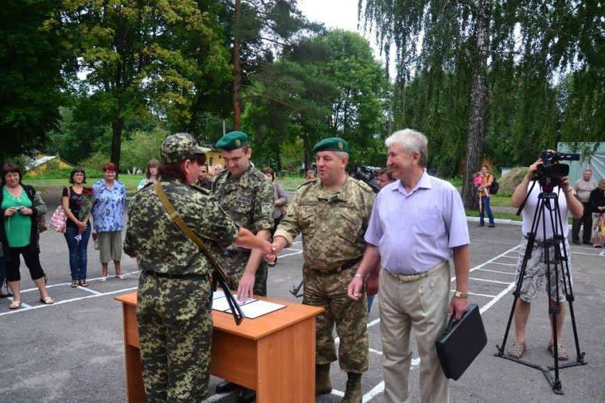 В Сумах мобилизованные пограничники присягнули на верность украинскому народу (ФОТО), фото-9
