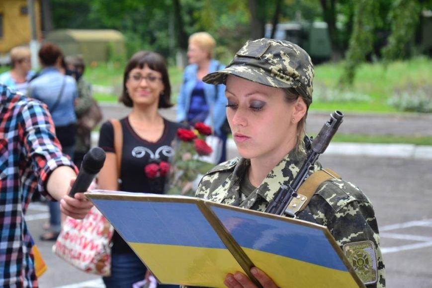 В Сумах мобилизованные пограничники присягнули на верность украинскому народу (ФОТО), фото-8