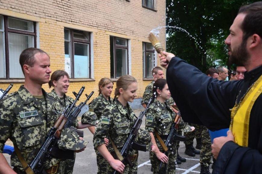 В Сумах мобилизованные пограничники присягнули на верность украинскому народу (ФОТО), фото-4