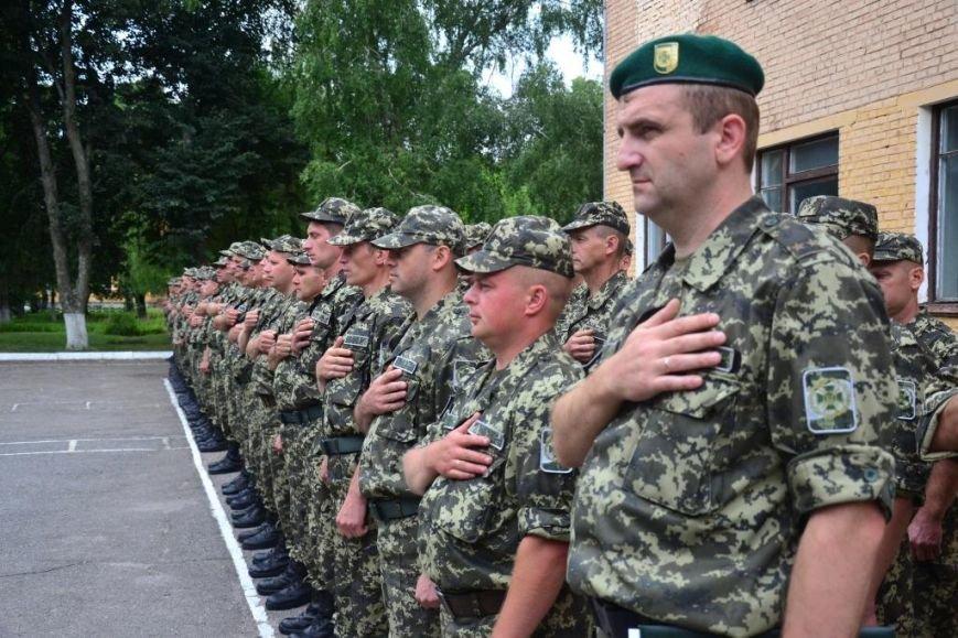 В Сумах мобилизованные пограничники присягнули на верность украинскому народу (ФОТО), фото-7