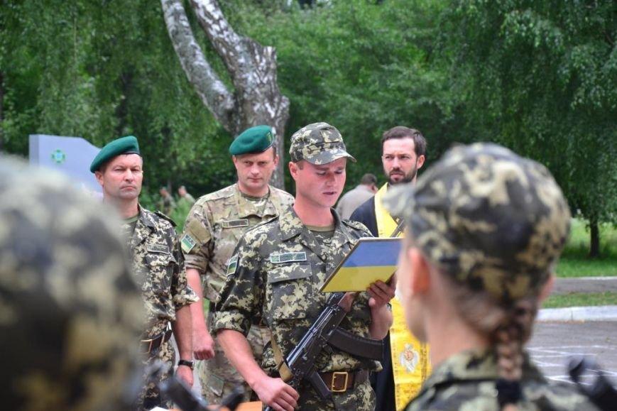 В Сумах мобилизованные пограничники присягнули на верность украинскому народу (ФОТО), фото-10