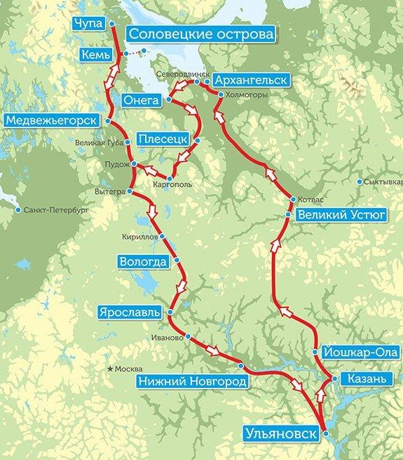 На Север! Уникальная экспедиция стартует из Ульяновска 2 августа (фото) - фото 1