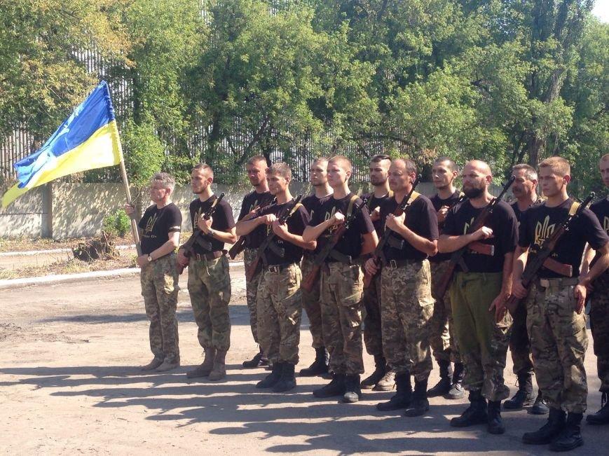 В Красноармейске приняли присягу новобранцы отдельной роты «Карпатська Січ» (фото) - фото 2