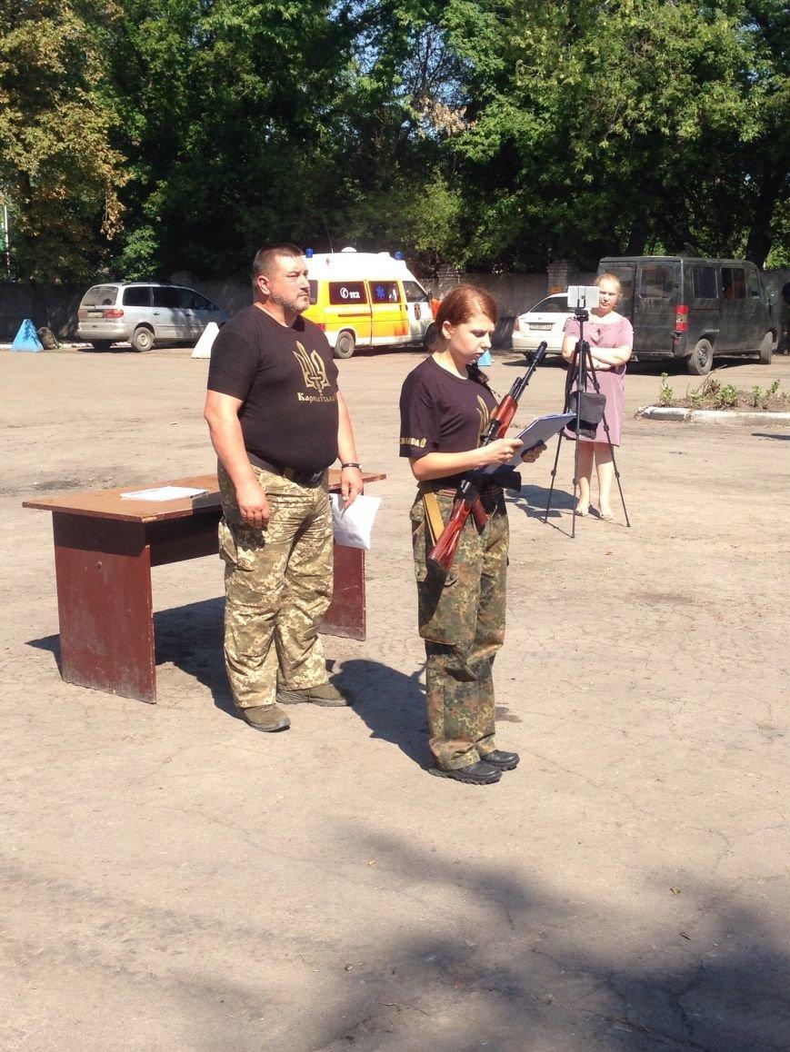 В Красноармейске приняли присягу новобранцы отдельной роты «Карпатська Січ» (фото) - фото 3