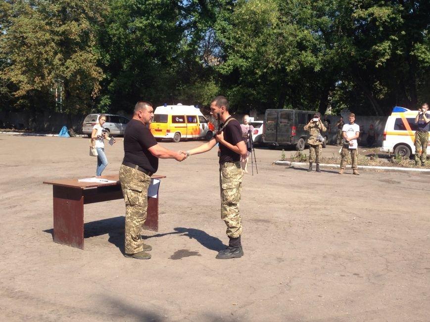 В Красноармейске приняли присягу новобранцы отдельной роты «Карпатська Січ» (фото) - фото 1